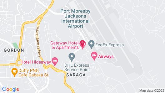 Gateway Hotel Map
