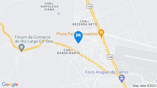 Duplex Aeroporto UFAL Map