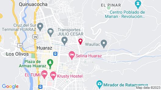 Hostel Climbing Point Map
