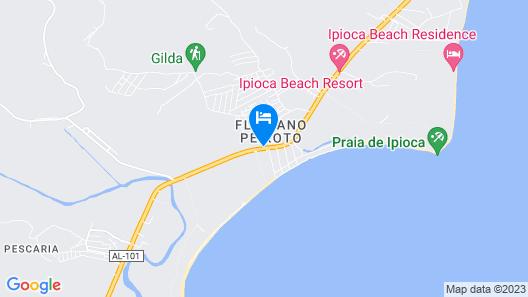 Salinas Maceió All Inclusive Resort Map