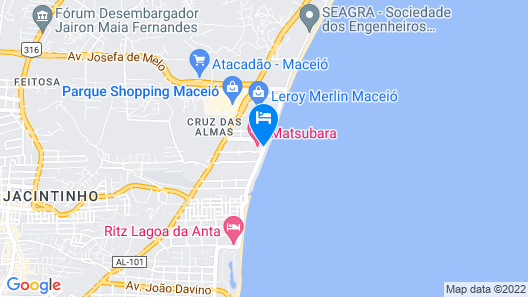 Matsubara Acqua Park Hotel Map