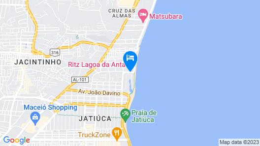 Ritz Lagoa Da Anta Map