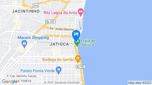 Cais da Praia Hotel Map
