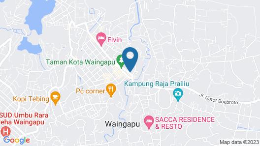 RedDoorz @ MT Haryono Street Waingapu Map