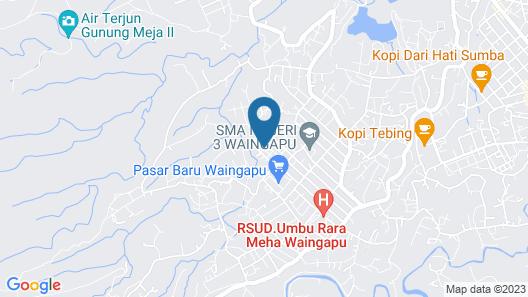 Villa Amidala - Waingapu Map