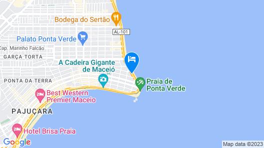 Maceió Mar Hotel Map