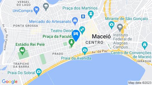 Poutur Pousada Map