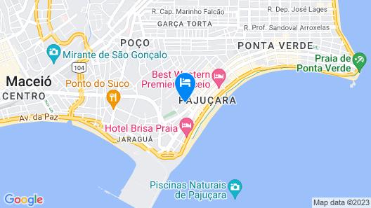 Hotel Pousada da Sereia Map