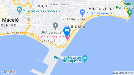 Pousada Ilha Bela Map