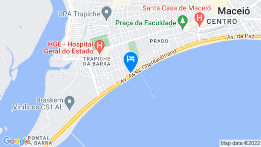 Apt Seaside With Pool, 2 Bedrooms, Air And Wi-fi Map