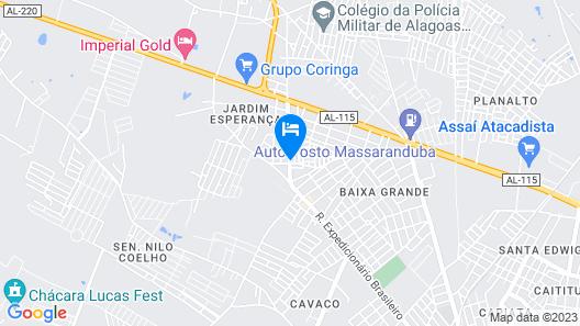 Hostel Central São Sebastião Map