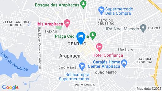ibis Arapiraca Map
