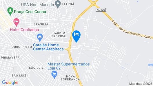 Hotel Santa Isabel Map