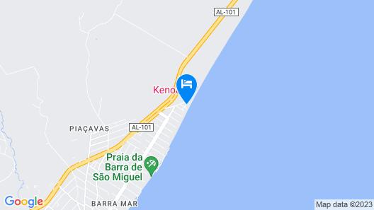 Kenoa Exclusive Beach SPA & Resort Map