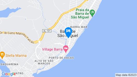 Hotel Rio Mar Map