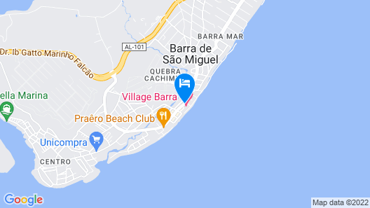 Village Barra Hotel Map