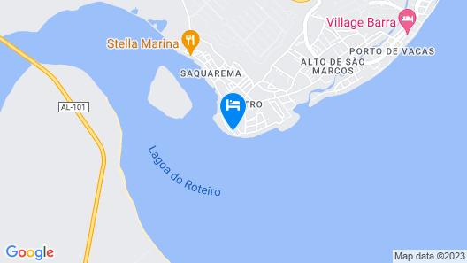 Pousada do Gunga Map
