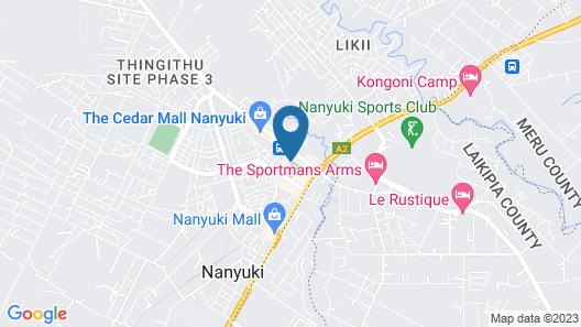 Ibis Hotel Nanyuki Map