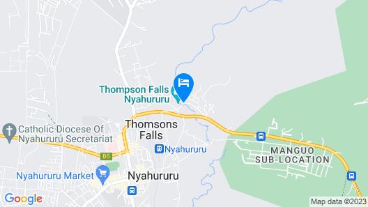 The Panari Resort Nyahururu Map