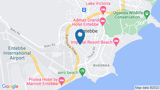 Airport Guesthouse Map