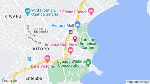 Best Western Premier Garden Hotel Entebbe Map