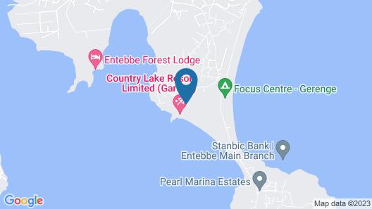 Country Lake Resort - Garuga Map