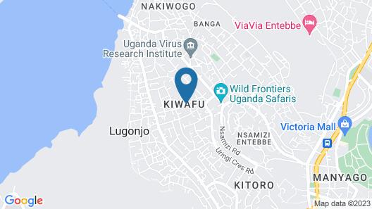 Gorilla African Guest House Map