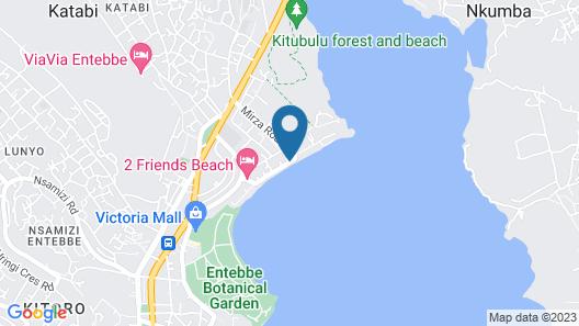 Victoria Royal Beach Hotel  Map
