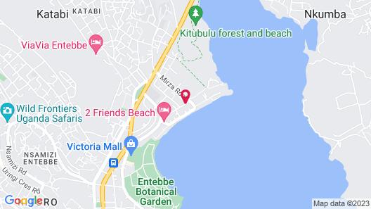 Protea Hotel by Marriott Entebbe Map