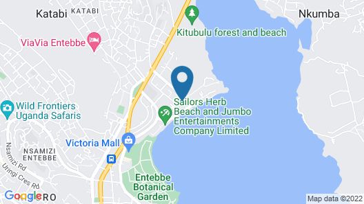 Protea Hotel by Marriott Entebbe Map