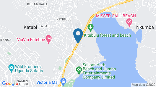 Victoria Region Motel Map