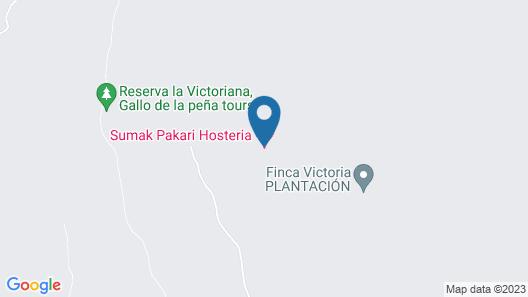 Sumak Pakari Hosteria Map