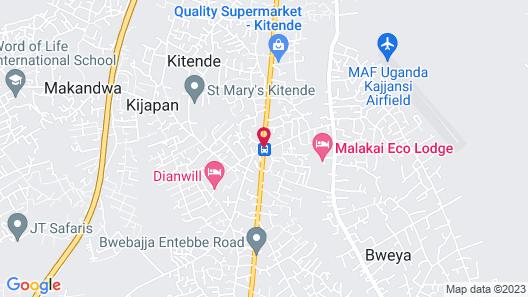 Malakai Eco Lodge Map