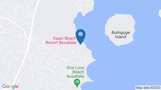 Kaazi Beach Resort Map