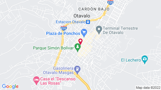 El Andariego Map