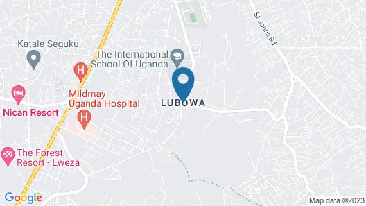 Precious Villas Lubowa Map