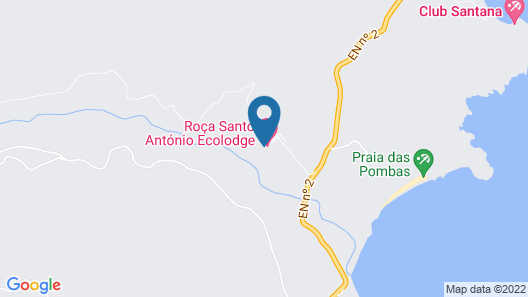 Roça Santo António Ecolodge Hotel Map