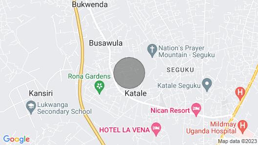 Seguku, Katale Apartment 2 Map