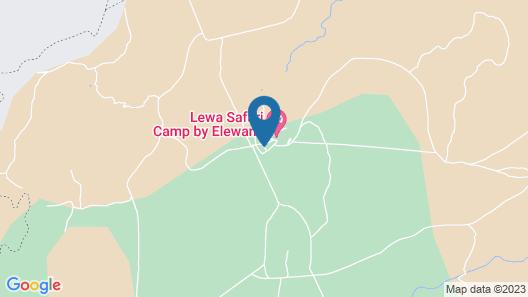 Elewana Lewa Safari Camp Map