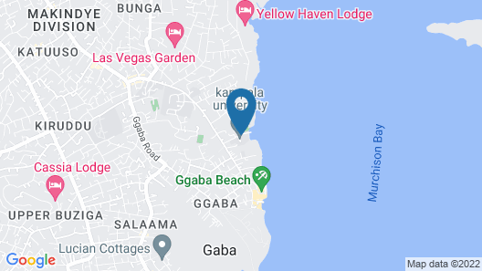 Morgen breeze tours and backpackers Map