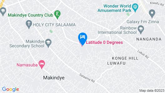 Latitude 0 Degrees Map