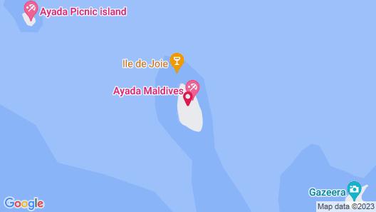 Ayada Maldives Map