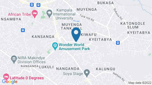 Mukyo Guest House Map