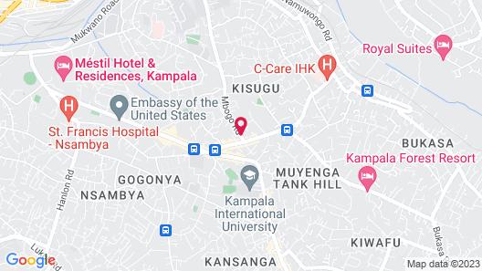 Dana Hotel Map