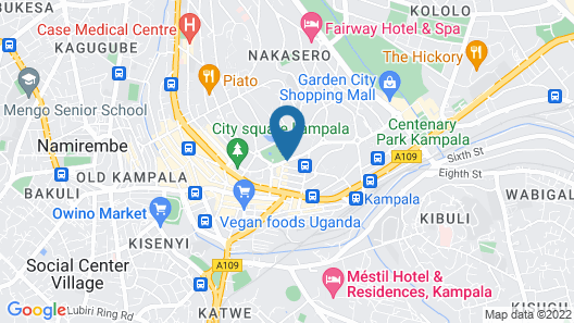 Speke Hotel Map