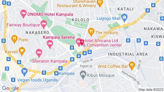 Speke Apartments Wampewo Map