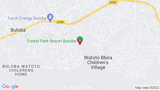 Forest Park Resort Map