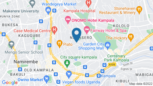 Mayflower Serviced Apartments Map