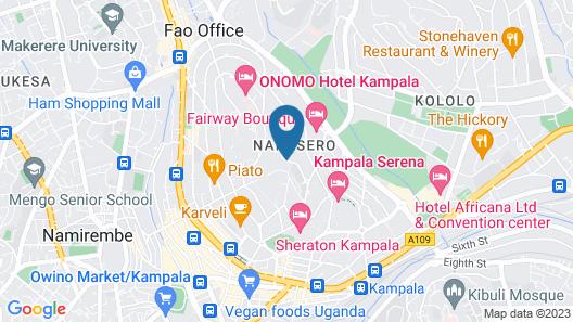 Ssanga Courts Map