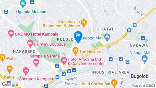Shangri-La Hotel Nyonyi Gardens Map